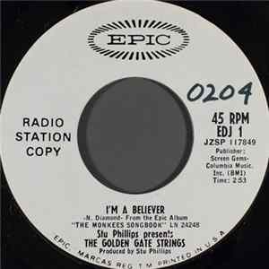 Stu Phillips Presents The Golden Gate Strings - I'm A Believer Download